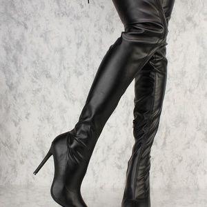 LILIANA Gisele Over-the-Knee Boot
